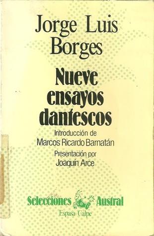 Nueve ensayos dantescos Jorge Luis Borges