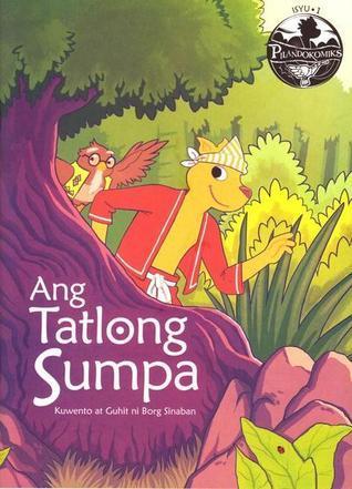 Ang Tatlong Sumpa  by  Borg Sinaban