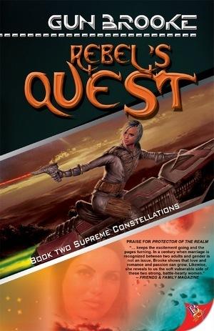 Rebels Quest (Supreme Constellations, #2) Gun Brooke