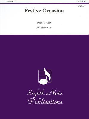 Festive Occasion: Conductor Score & Parts Donald Coakley