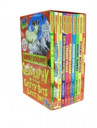 Horrible Geography Collection 10 Books Set  by  Anita Ganeri