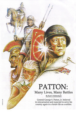 Patton: Many Lives, Many Battles: General Patton and Reincarnation  by  Karl F. Hollenbach