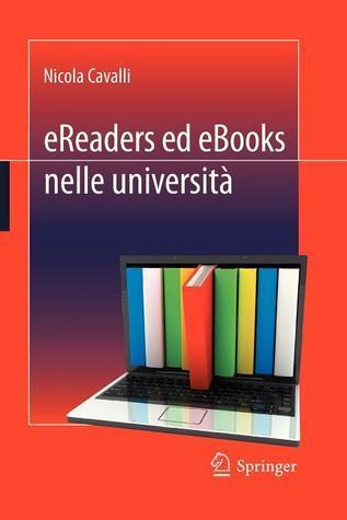 Ereaders Ed eBooks Nelle Universita Nicola Cavalli