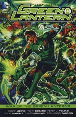 War of the Green Lanterns. Writers, Geoff Johns, Peter J. Tomasi Geoff Johns