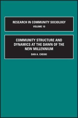 Research in Community Sociology, Volume 10  by  Danesh A. Chekki