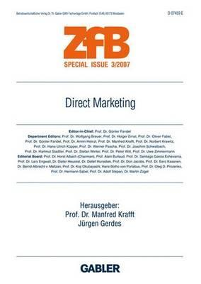 Direct Marketing Manfred Krafft