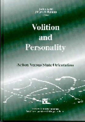 Volition And Personality: Action Versus State Orientation Julius Kuhl