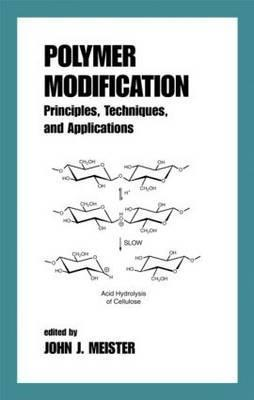 Polymer Modification: Principles, Techniques, and Applications  by  John J. Meister