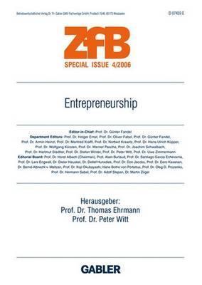 Entrepreneurship  by  Thomas Ehrmann