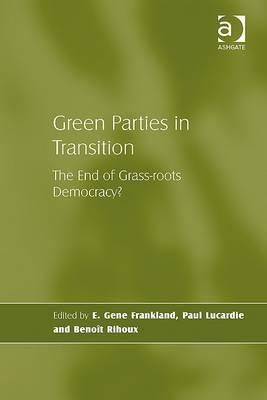 Between Protest And Power: The Green Party In Germany E. Gene Frankland