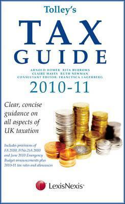 Tolleys Tax Guide 2010 11 Arnold Homer
