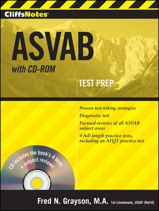 CliffsNotes ASVAB with CD-ROM  by  Fred Grayson