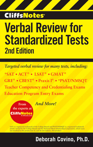 CliffsNotes Verbal Review for Standardized Tests, 2nd Edition  by  Deborah Covino