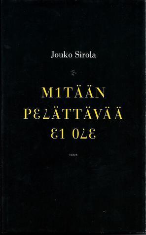 M1TÄÄN P37ÄTTÄVÄÄ 31 073 Jouko Sirola