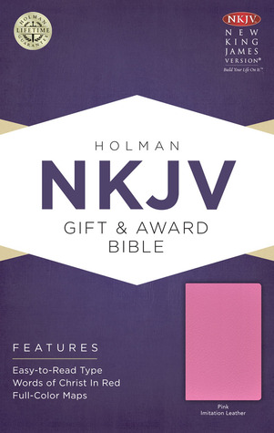 NKJV Gift & Award Bible, Pink Imitation Leather  by  Holman Bible Publisher