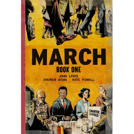 March: Book One (March, #1) by John Robert Lewis — Reviews ...