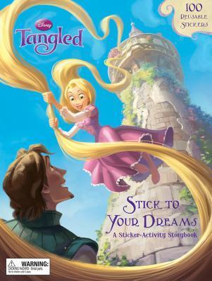 Stick to Your Dreams: A Sticker-Activity Storybook Walt Disney Company