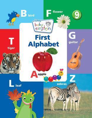 Baby Einstein First Alphabet Book Marcy Kelman