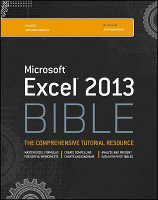 Excel 2013 Bible John Walkenbach