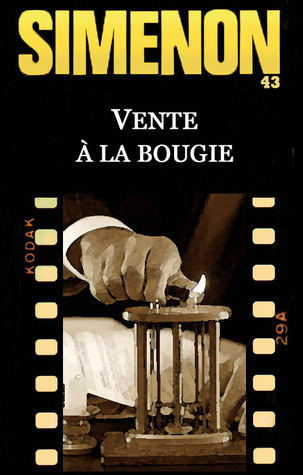 Vente à la bougie  by  Georges Simenon