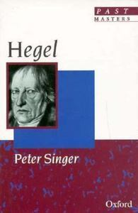 Hegel  by  Peter Singer