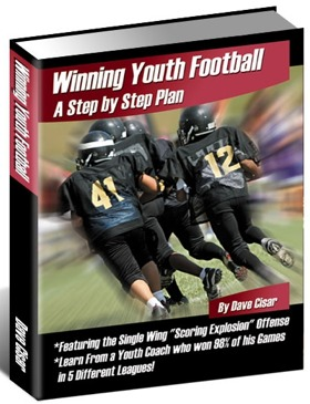 Winning Youth Football: A Step By Step Plan  by  Dave Cisar