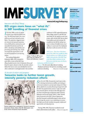 IMF Survey No.14, 2003  by  Shinji Takagi
