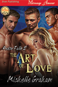 The Art of Love (Hedon Falls, #2)  by  Michelle  Graham