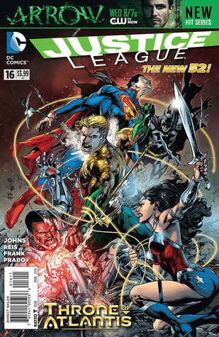 Justice League #16 (New 52 Justice League #16)  by  Geoff Johns