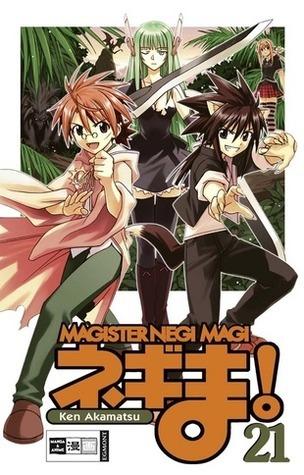 Magister Negi Magi Ken Akamatsu