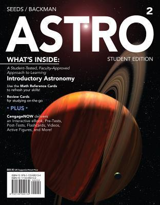 Astro2 (with Cengagenow, 1 Term Printed Access Card)  by  Dana Backman