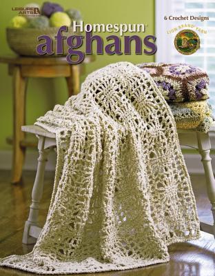Homespun Afghans (Leisure Arts #4155)  by  Lion Brand Yarn