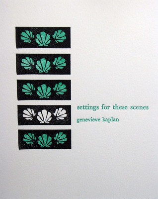 settings for these scenes Genevieve Kaplan