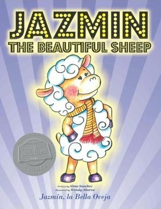 Jazmin The Beautiful Sheep / Jazmín, la Bella Oveja  by  Alma Sanchez