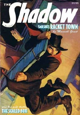 The Sealed Box / Racket Town (The Shadow, #30)  by  Walter B. Gibson