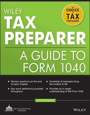 Wiley Rtrp Registered Tax Return Preparer Exam Review 2013 The Tax Institute at H&R Block