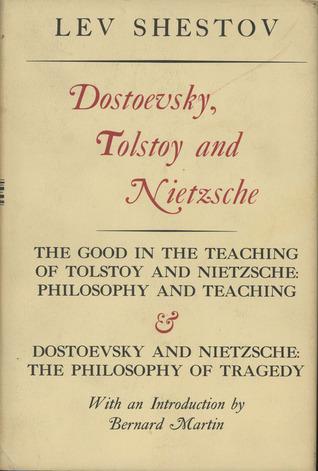Достоевский и Ницше Lev Shestov