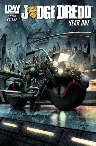 Judge Dredd Year One #1 Matt Smith