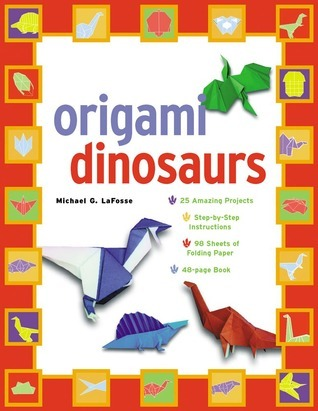 Origami Dinosaurs Kit  by  Michael G. LaFosse