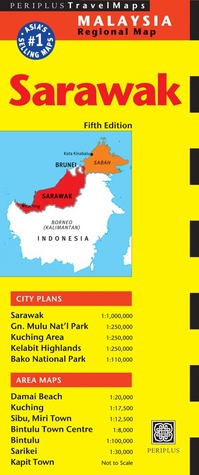 Sarawak Travel Map Fifth Edition Periplus Editors