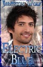 Electric Blue Jamieson Wolf