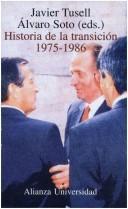 Historia de la transición (1975-1986) Javier Tusell