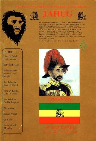 Jahug: Centenary of Ras Tafari C. Gayle