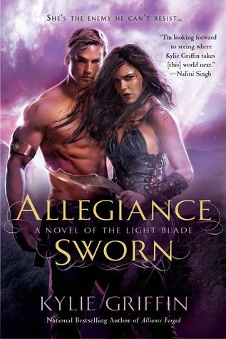 Allegiance Sworn (The Light Blade, #3)  by  Kylie Griffin