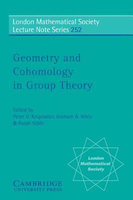 Geometry and Cohomology in Group Theory  by  Peter H Kropholler