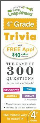 Lets Leap Ahead 4th Grade Trivia Notepad: The Game of 300 Questions for you and your friends! Alex A. Lluch