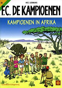F.C. De Kampioenen - 33. Kampioenen in Afrika  by  Hec Leemans