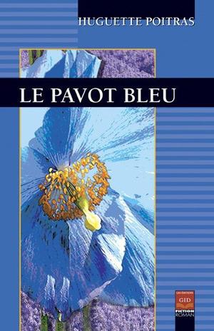 Le Pavot bleu  by  Huguette Poitras