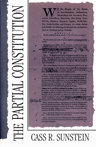 The Partial Constitution  by  Cass R. Sunstein