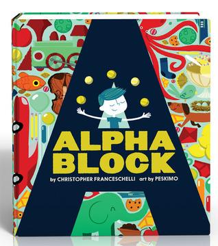 Alphablock  by  Christopher Franceschelli